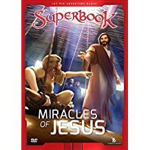 Miracles of Jesus dvd