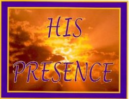 In His Presence - Poster