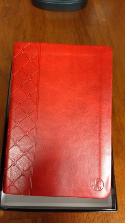 Passion Translation Bible Red for Annual Subscribers